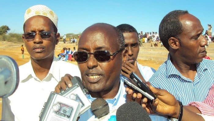 Sff first vice presidnet Ali Said Guled