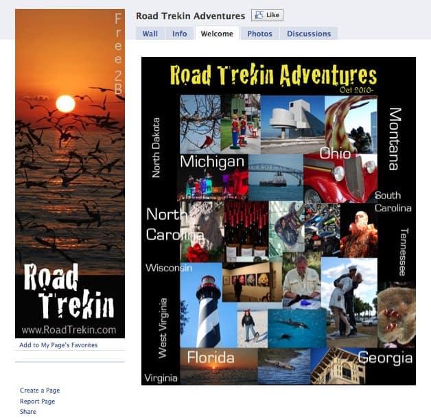 RoadTrekinFacebookScreenshot