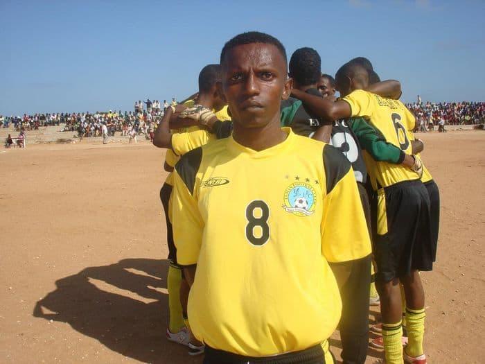 Leading Goal scorer Abdi Aziz Mohamed ALi