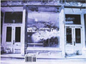 Luncheonette, cover photo by Paul Clemente via Djelloul Marbrook