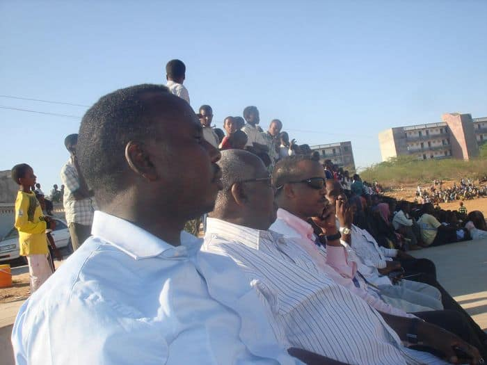 dignitaries