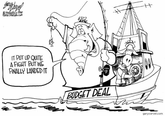 Editorial Cartoons by Gary Varvel - gv2011110412dBP - 12 April 2011