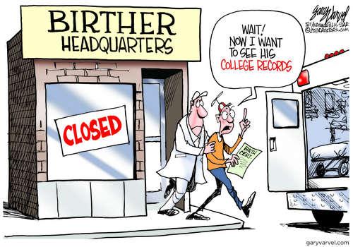 Editorial Cartoons by Gary Varvel - gv2011110428dAPC - 28 April 2011