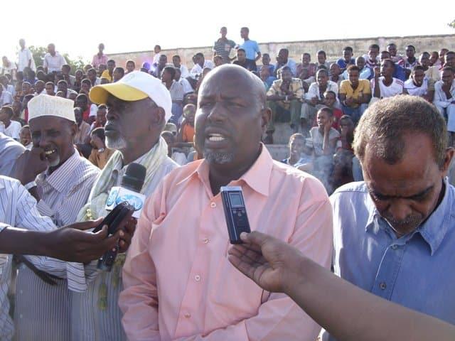 Chairman SHF Mohamed Hurshe Hassan Enow