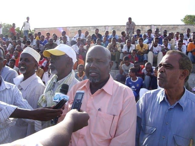 Chairman SHF Mohamed Hurshe Hassan