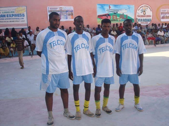Telcom Somalia team