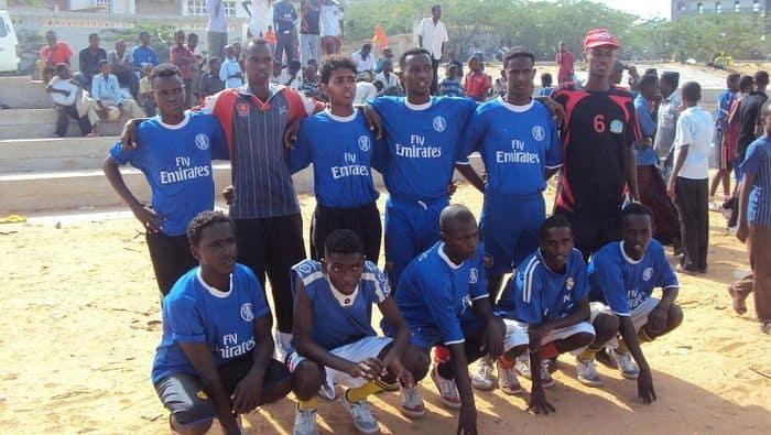 Winning team of school Djibouti