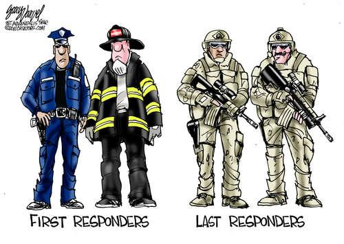 First Responders Meet Last Responders