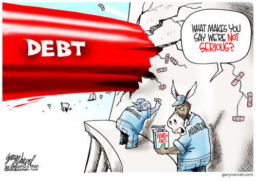 Congress Gets Serious Over Debt - And Pigs Fly