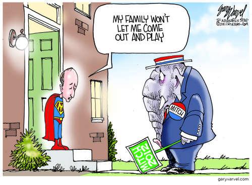 Editorial Cartoons by Gary Varvel - gv2011110522dAPC - 22 May 2011