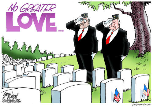 Editorial Cartoons by Gary Varvel - gv2011110530dAPC - 30 May 2011