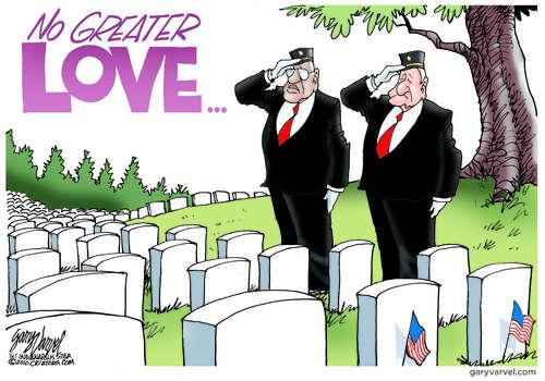 Editorial Cartoons by Gary Varvel - gv2011110530dAPC - 30 May 2011