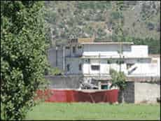 osama compound at aaibatabad