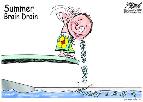 Summer Brain Drain Time Again, It Happens Every Year