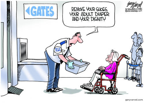 TSA Gets More Draconian - If Thats Possible