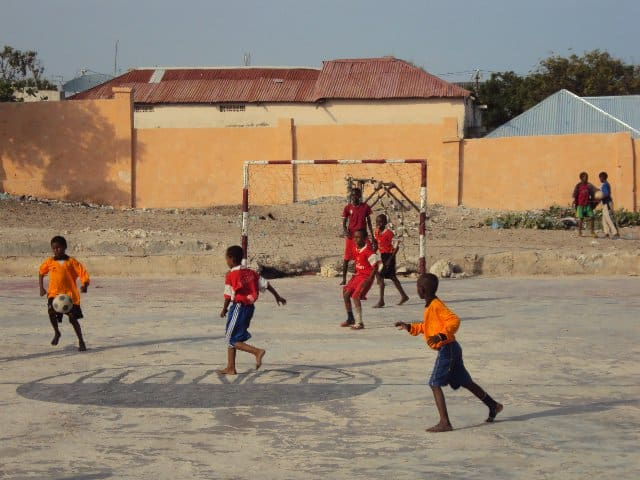 SFF Launches 9th Youth Soccer Training Center in Mogadishu
