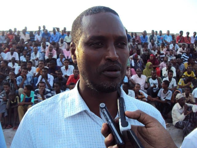 District commissioner Ahmed Meyre