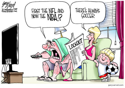 Lockouts on Football and NBA, What Can a Man Do?