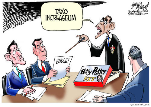 Failing Economy Leads Obama To Try Magic Wand