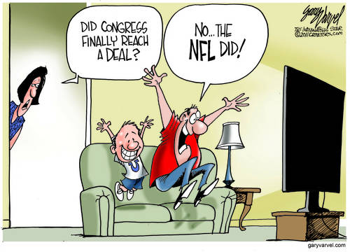 Americans Care More About NFL Deal Than Politics