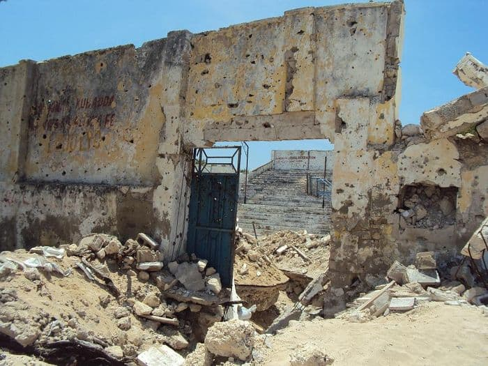 First JUly basketball stadium destroyed