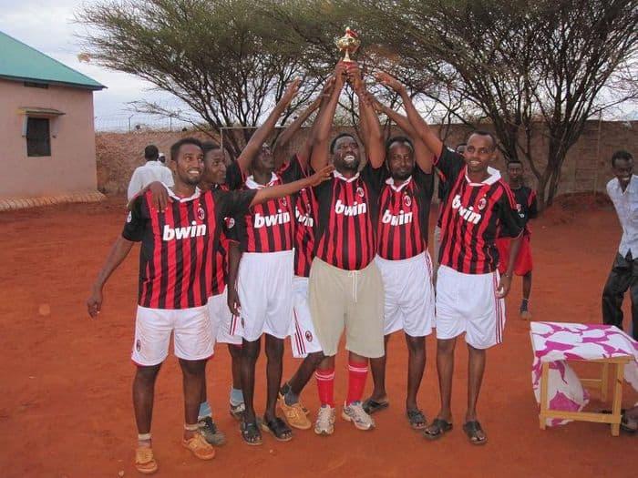 Iftin team boys celebrate