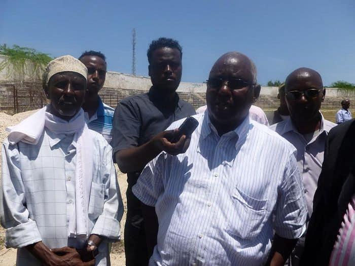 Somali NOC president Aden Hajji Yeberow
