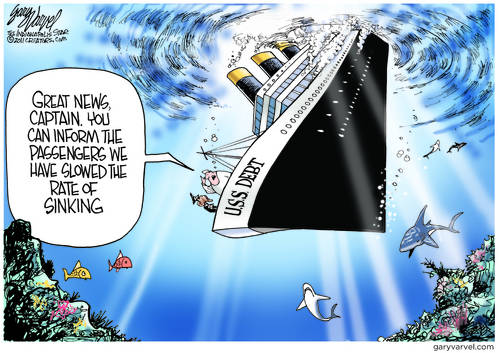 Great News, Captain Obama, We Slowed The Rate Of Sinking
