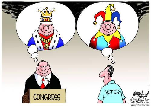 Make Me King Of Congress... But You Are A Jester.