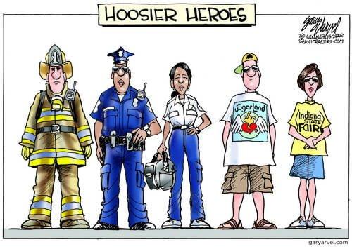 Editorial Cartoons by Gary Varvel - gv2011110817dAPC - 17 August 2011