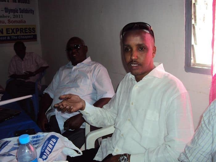 First vice president Duran Ahmed Farah