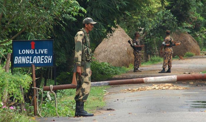 BSF and BGB frontier security soldiers
