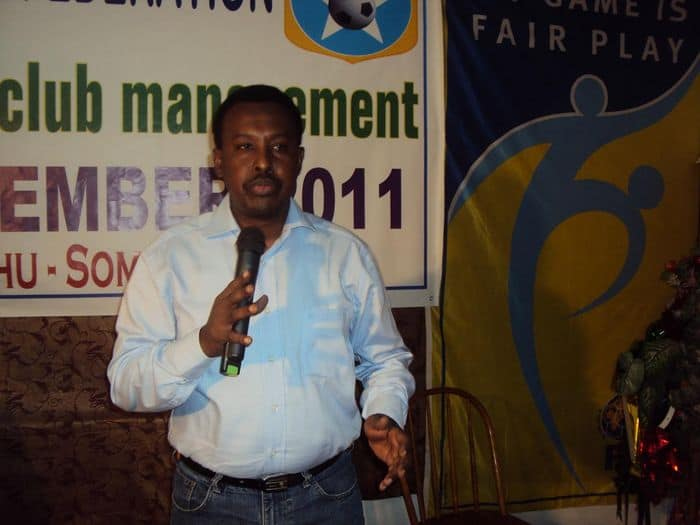 SFF Secretary General Abdi Qani Said Arab