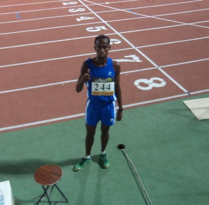 Mohamed 1500m