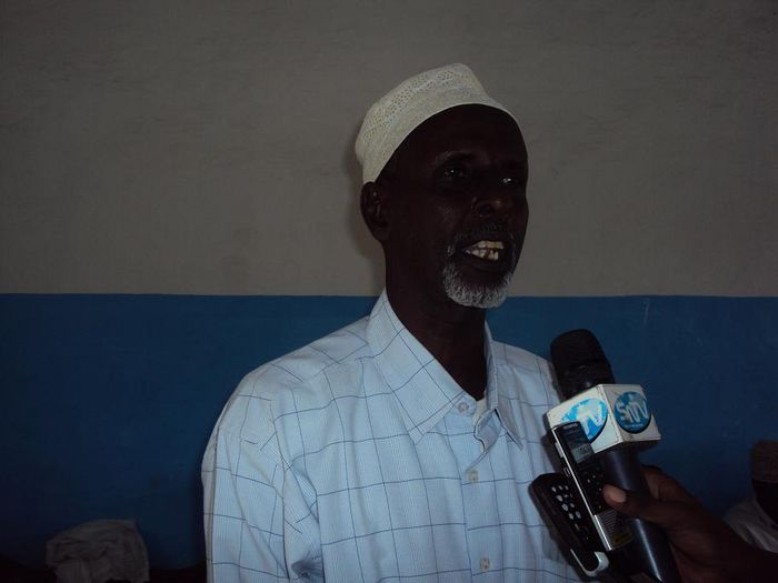 Somali Sports ministery official Mohamed Amed Olow