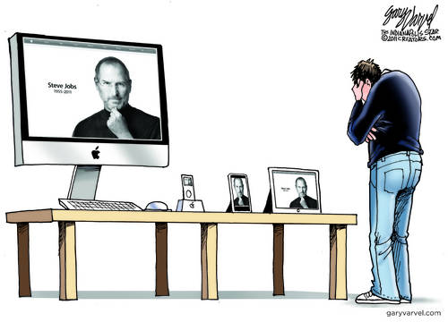 Steve Jobs R.I.P. We Miss You, But You Are In All Of Our Devices