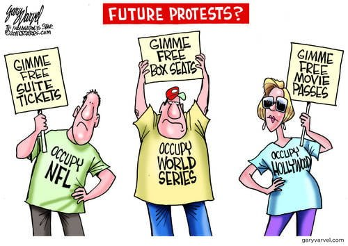 Protest, Protest: Varvel Predicts Future Protests
