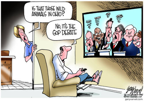 GOP Debate Is A Zoo
