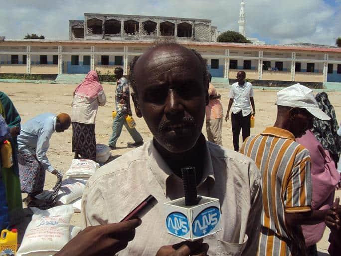 Former footballer Ahmed Hilowle