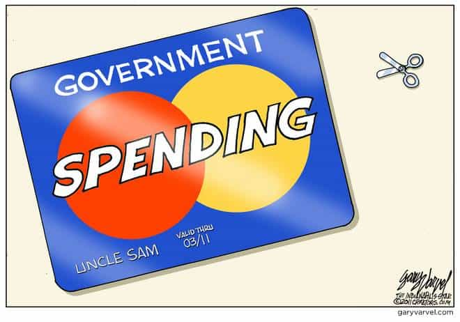 The Uncle Sam Credit Card Needs To Be Cut Up