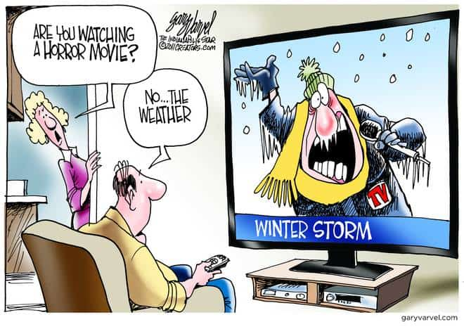 Winter Weather News, The Best Horror Movie in Town