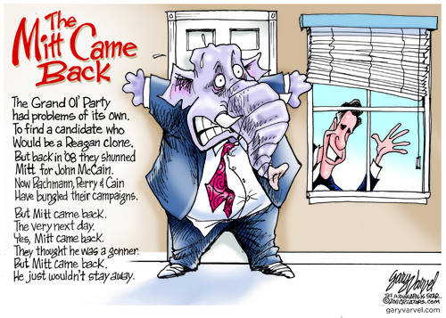 The Mitt Came Back, He Couldnt Stay Away