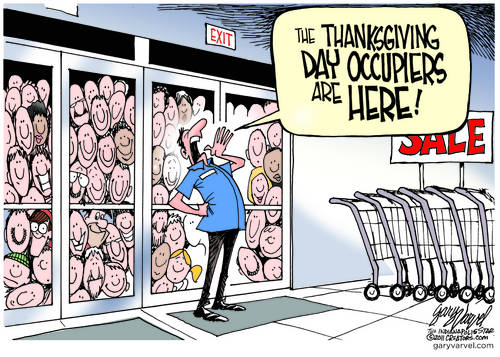 Editorial Cartoons by Gary Varvel - gv2011111123dAPC - 23 November 2011