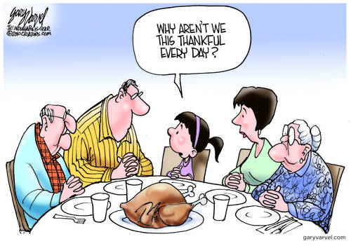 Out Of The Mouths Of Babes, Why Not Always Thankful?
