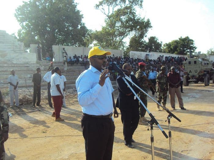 MOgadishu Mayor Mahmoud Ahmed Nur