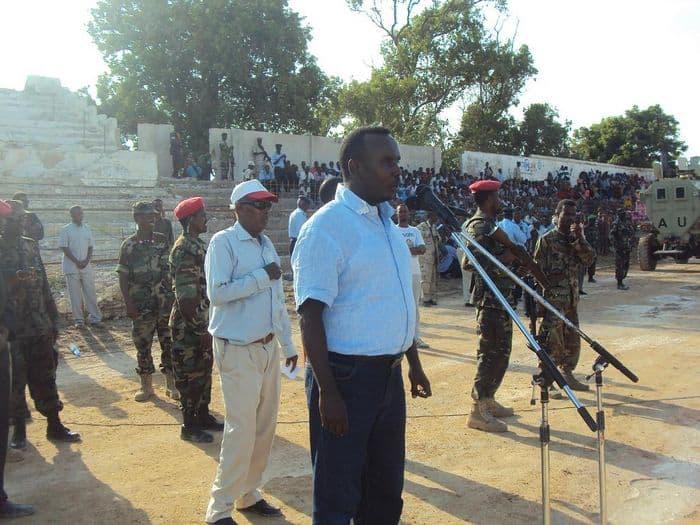 Somali FA president Said Mahmoud Nur