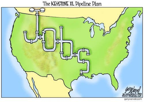This Is How The Keystone XL Pipeline Creates Jobs