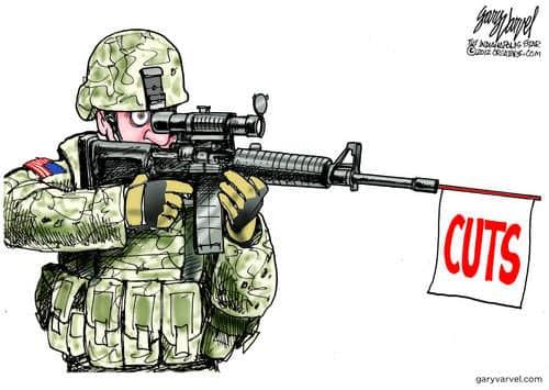 Obama, Congress Make Minor Cut To Military Budget