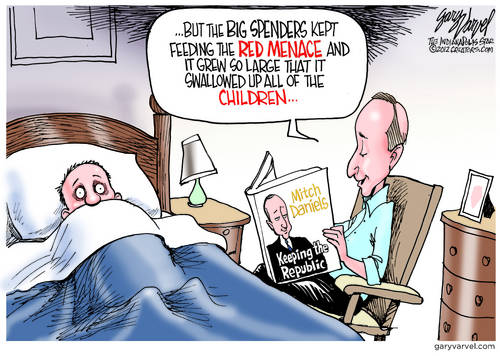 Mitch Daniels Tells a Bedtime Story Of The Republic