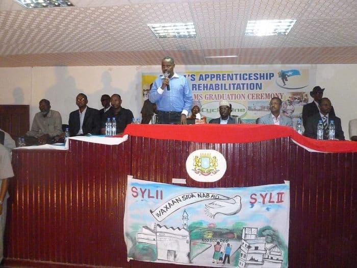 Mogadishu Mayor Mahmoud Ahmed Nur